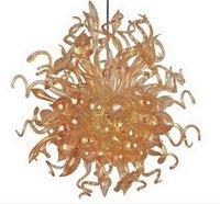 Chihuly del techo del estilo italiano luces de la sala de la decoración de cristal de Murano Cristal LED decorativo colgantes estilo personalizado