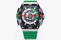 FM-Fabrik skafander-Uhr-Edelstahl Luxusuhr Saphir Wasserdicht Tonneau Armbanduhren Schweizer automatische mechanische massive Gehäuseboden