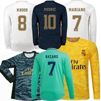 2019 2020 Real Madrid maillots de football ASENSIO MARCELO MODRIC RAMOS DANGER BENZEMA JAMES gardien 19 20 football maillot complet