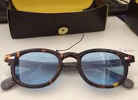 Nouveau Arrivé S m L Taille Lemtosh Sunglasses Hommes Femmes Eyewear Johnny Depp soleil lunettes de soleil Top Qualité Sunglasses Cadre avec boîte d'origine