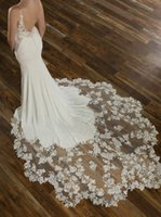 Rustic Boho Wedding Dress With Court Train Sexy Backless Mer...
