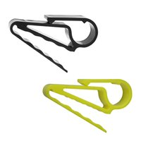 2pcs sostenedor portable del cigarro clip Minder Grip Clamp Para bolsa de golf, Carro, barco, pesca, club de golf, equipo de golf