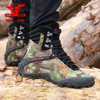 XIANGGUAN men hiking shoes Camping Tactical Boots men Snow B...