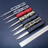 Espada hormiga 24 modelos de doble acción táctica de la autodefensa cuchillo plegable del cuchillo del EDC que acampa cuchillos de caza regalo de Navidad Adker PD00