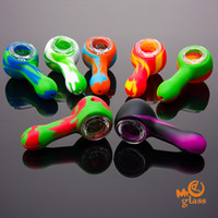 Silicone Smoking Pipes Small Size 81mm Length Silicone Hand ...