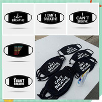 DHL Ready Free Shipping I Can' t Breathe Letter Print Ma...