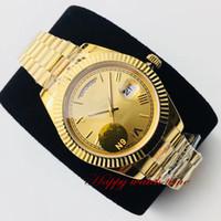 N9 أعلى جودة m126333-0010 تاريخ الطلب روز حالة الذهب ETA2836 التلقائي الياقوت الميكانيكية الرجال ووتش 904L الصلب الفرقة Luxry ساعات رياضية