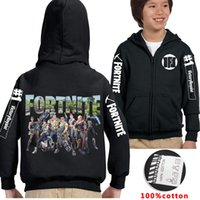 Quality Cool Fortnite Casual Hoodies Big Kids clothes Black ...