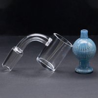 High Quality 25mm XL Flat Top Quartz Banger with USA Carb Ca...