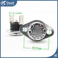 5pcs / lot KSD301 10A250V 40-110 95 degrés Normalement ouvert Interrupteur de température du thermostat