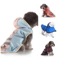Multi tamanho e cor vestuário cão poncho capa de chuva cães impermeável animal de estimação quente reflexivo roupas leves usadas 29mq h1