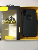 ott er funda original de silicona para el camino del defensor para iPhone XR SE 6 7 8 más X XS MAX Funda protectora a prueba de golpes del teléfono Cubierta con caja de embalaje