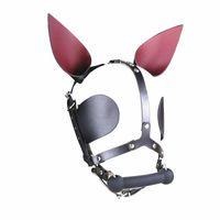 neueste harness hundeknochen mundknebel stick stopper bdsm bondage getriebe fesseln augenmaske ohr dekoration erwachsene geschlechtsspielwaren für frauen GN312400048