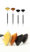 Fan Shape Makeup Brush Powder Foundation Cosmetics Make Up B...