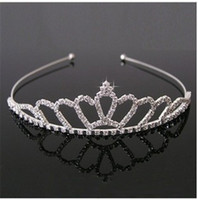 Hot Sale New Design Beautiful Shiny Crystal Bridal Tiara Par...