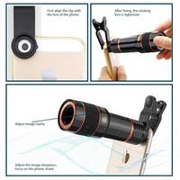 Cyberstore 12X Cep Telefonu Harici Kamera Lens Evrensel Klip Teleskop HD Dış Telefoto Lens Tele Objektif Optik Zoom Cep Telefonu Kiti