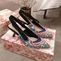 Women new high heels, Embroidered beaded sandal, Casual and ...