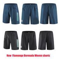 NUEVO 2019 2020 2021 Flamengo Soccer Bermudas Shorts Diego Home Alow Weew 19 20 21 Pantalones deportivos de entrenamiento de fútbol S-2XL