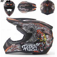 2019 Горячие продажи внедорожных шлемов скоростному спуску на горных анфас шлем мотоцикла Moto carmoto крест каско Casque capacete