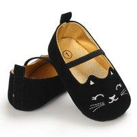 Пломбир Ангел новорожденный девочка обувь мягкой подошве анти-слип Детская обувь девушки первые туфли-ходоки хлопок Принцесса Prewalkers 0-18 м