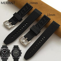 24mm 22mm buckle men Watchband Natural high quality sir Watch band for Bracelet navitimer/avenger/ strap Wristband