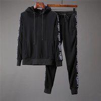 Autumn Men' s Full Zip Sportswear Men' s Sports Set ...