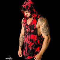 Homens Tanques de Musculação Camuflagem Camisa sem mangas Boy Ginásio de Fitness treino Singlet vest Undershirt Jogger roupas Esportivas