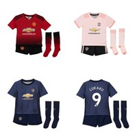 Top Quality Manchester United Kids Soccer Jersey 6 POGBA 7 A...
