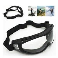 Professionelle Skifahren UVschutzbrille Winter-Schnee-Antistaub-Brille Winddichtes Brillen Sonnenbrillen Outdoor Reitglas US