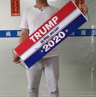 Trump 2020 Hand Held Flag 24 * 70cm de Apoio Eleitoral Presidente Bandeira Donald Trump bandeira Keep America Great Again LJA2428