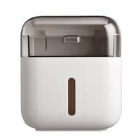 Titular de papel higiênico Casa de banho de papel duplo caixas de papel de papel de armazenamento de prateleira de parede Dispensador de tecidos