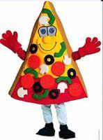 2019 завод размер горячей пиццы костюм талисмана Рождество Карнавальная одежда производительности взрослых бесплатная доставка