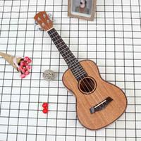 Yüksek Kalite 23 İnç 4 Strings Maun Ukulele Gülağacı Klavye Köprü Gitar Müzik Enstrüman İçin Gitar Müzik Sevenler Hediye