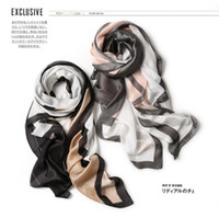 2019 luxury Women Silk scarf Beach Shawl and Echarpe summer ...
