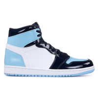 nike air jordan 1 Nuevo 2019 1s High OG UNC Patent ASG Obsidian Blue Chill White Hombre Mujer Zapatillas de baloncesto 1s All-Star Game Sneakers diseñador con caja