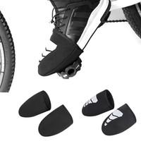 للجنسين سماكة للدراجات النارية المضادة المطر ركوب الدراجات الجرموق التمهيد للفروسية واقية للماء غير زلة الحذاء غطاء للدراجات