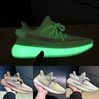 Con Box Glow In The Dark Scarpe da corsa Antlia Synth Lundmark True Form Statico riflettente Hyperspace Clay Kanye West Sneakers Sports Trainer