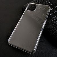Ultra Slim Fina claro transparente de plástico rígido iPhone 12 PC Crystal Case Shell Capa Para Mini 11 Pro Max XS XR X 8 7 6 6S Além disso SE à prova de choque