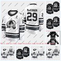 96 Mikko Rantanen Colorado Avalanche 2019 All-Star oyunu Hockey Jersey 92 Gabriel Landeskog 29 Nathan Mackinnon 1 Semyon Varlamov 28 Ian Cole