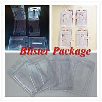 Embalaje de cartuchos al por menor Embalaje de blister de plástico para 0.5 ml 1 ml Cartuchos de Vape Envases de vapor Envases de 510 carros