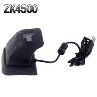 Fingerabdruckscanner mit Retail-Box ZK4500 USB-Fingerabdruckleser-Sensor für Computer PC Home / Office Free SDK Capturing Reader