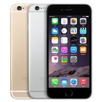 Remubrishishished Original Apple iPhone 6 지문 4.7 인치 A8 칩셋 1GB RAM 16 / 64 / 128GB ROM iOS 8.0MP 잠금 해제 LTE 4G 스마트 폰 무료 DHL 5pcs