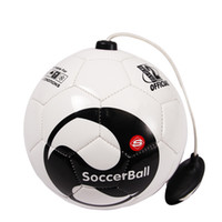 New Football BALL Kick beginner Soccer Ball Practice Belt Tr...