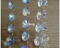 Di trasporto del nuovo colore di ab 10Meters 14 millimetri Octagon catena festa di nozze di cristallo K9 Strand ghirlanda decorazione di perline Lampada lampadario