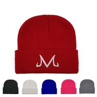 M bordado sombrero de punto hombres majin buu knit gorros gorra causal al aire libre mujer caliente viajes ski tapa tta1674