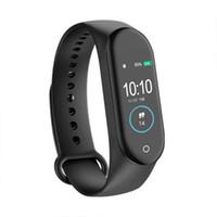 ID M4 Smart Band Watch con fitness tracker braccialetto sport frequenza cardiaca pressione sanguigna m5 smartband monitor santainal cinghia per fitness tracker