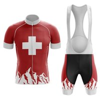 Suisse Cycling Team Jersey personnalisé Mountain Road Race Top tempête max Vêtements de vélo / vélo jeux / VTT jersey