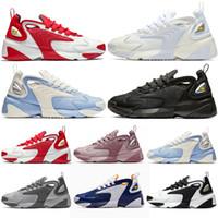 M2k Tekno Zoom 2K أحذية رجالية رياضية 2000 أسود أبيض أزرق أرجواني سباق أحمر مصمم أحذية رياضية رجالي المدرب الحجم 36-45