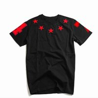 Luxury Mens Designer T Shirts with Stars Fashion Brand Summe...
