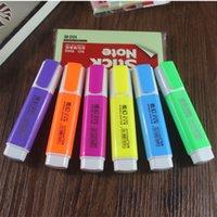 علامات 6 ألوان ناعمة ومريحة الكتابة بسلاسة اللون القلم الإطارات المطاط المعادن الطلاء الدائم الكتابة على الكتابة على الجدران